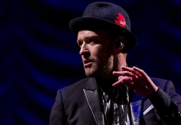 Justin Timberlake at V Festival