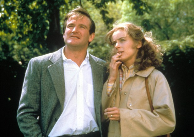 Robin Williams and Mary Beth Hurt in The World According To Garp (1982)