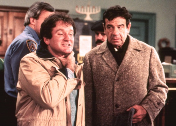 Robin Williams and Walter Matthau in The Survivors (1983)