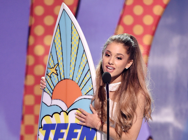 Ariana Grande at the Teen Choice Awards 2014
