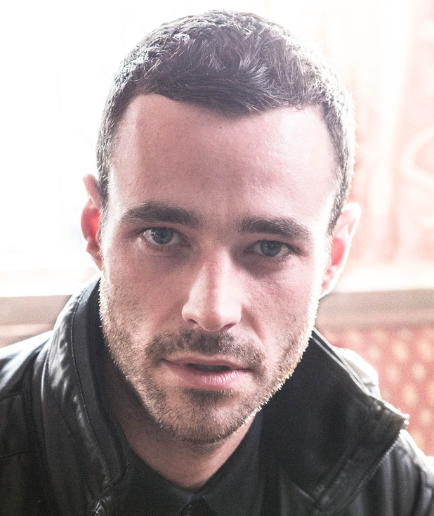 Sean Ward as Callum in Coronation Street