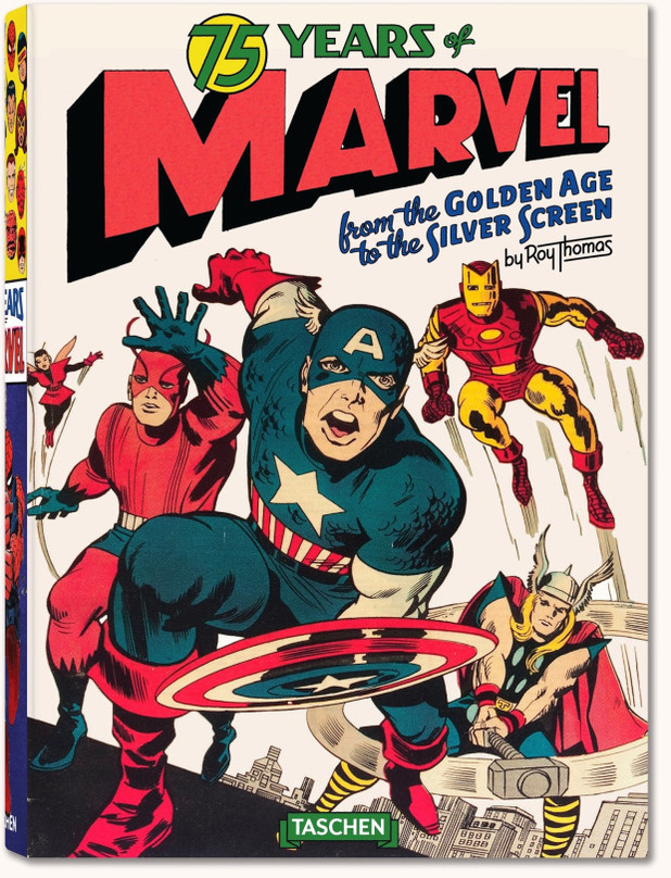 Taschen's 75 Years of Marvel