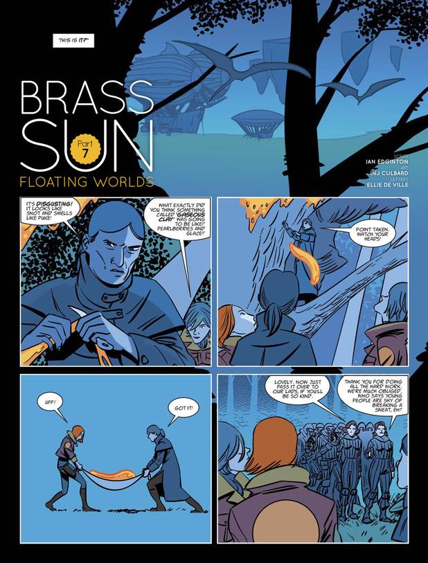 Brass Sun - Floating Worlds