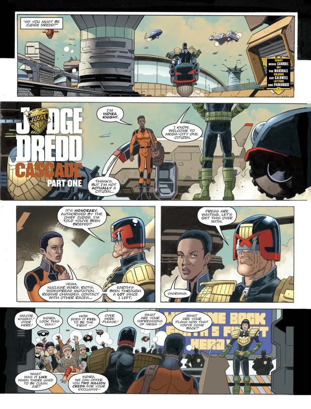 Judge Dredd - Cascade