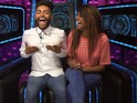 Biannca can't resist repeating her exit from the Big Brother house.