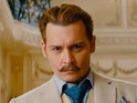Depp stars as a roguish art dealer who is on the hunt for a stolen painting.