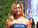Laverne Cox attends the 2014 Creative Arts Emmy Awards at Nokia Theatre L.A. Live