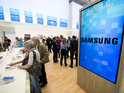 Samsung's stand at the 53rd IFA (Internationale Funkausstellung) electronics trade fair in Berlin