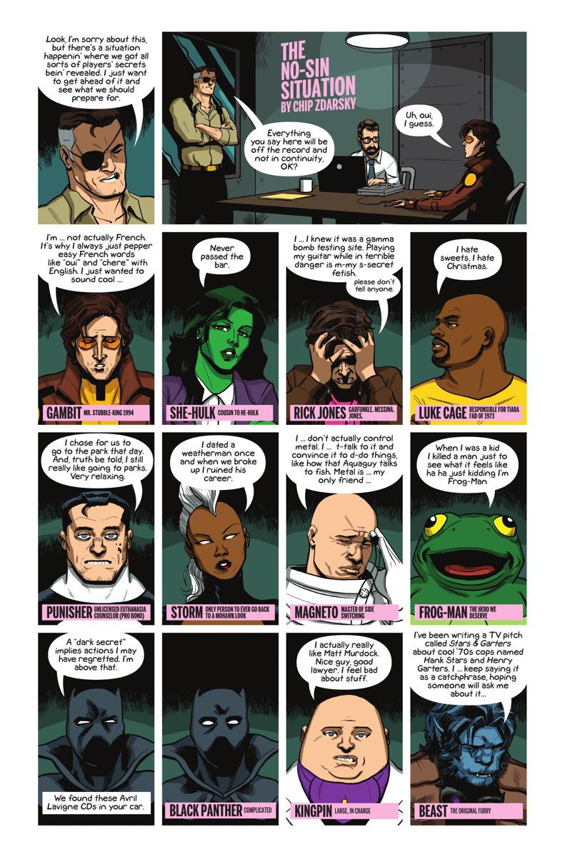 criminals digital comic