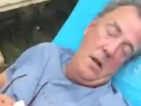 Watch Jeremy Clarkson get splashed awake in ice bucket challenge