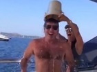 Simon Cowell giggles during Ice Bucket Challenge, nominates X Factor judges