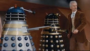 Dr Who and the Daleks clip - Caught by Daleks