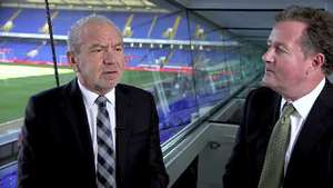 Alan Sugar and Piers Morgan banter over Match of the Day