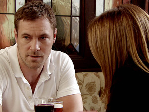 Rob desperately tries to convince Carla she's be wasting her time