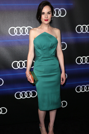 LOS ANGELES, CA - AUGUST 21: Actress Michelle Dockery attends the Audi celebration of Emmys Week 2014 at Cecconi's Restaurant on August 21, 2014 in Los Angeles, California. (Photo by David Livingston/Getty Images)