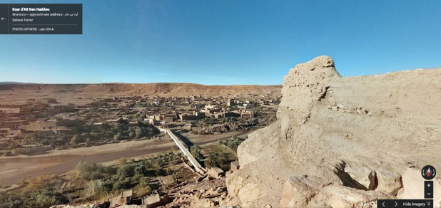 Photo of Aït-Ben-Haddou, Marrakech, Morocco, filming location of Yunkai in HBO's Game of Thrones