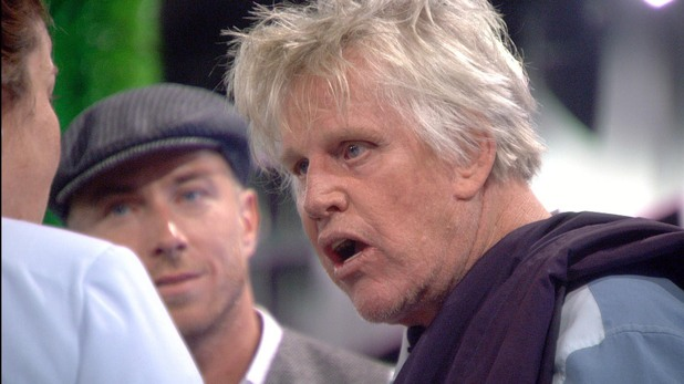 White Dee and Gary Busey on Celebrity Big Brother