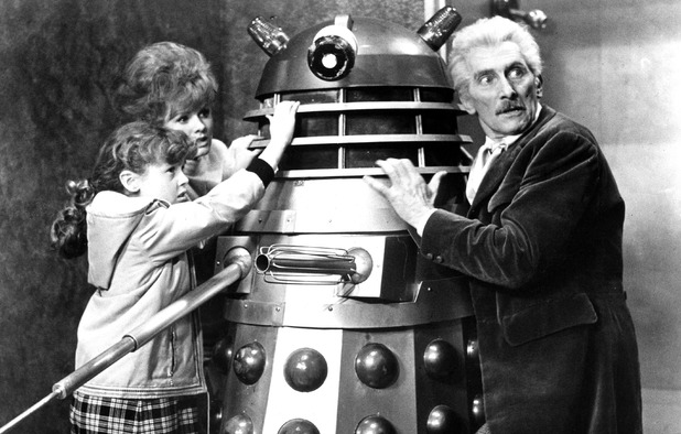 Peter Cushing as Dr. Who in Dr. Who & the Daleks (1965)
