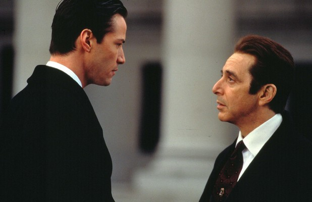 Keanu Reeves and Al Pacino in The Devil's Advocate