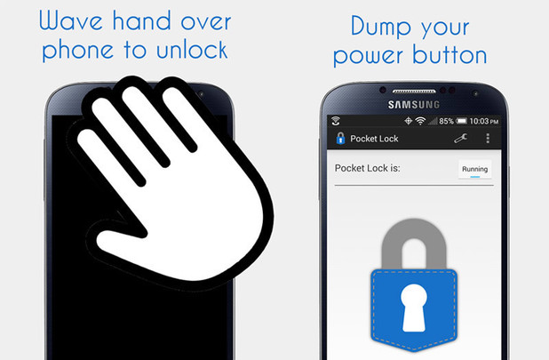 Pocket Lock app for Android