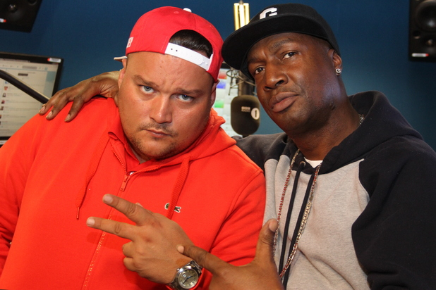 Charlie Sloth and Grandmaster Flash for BBC Radio 1xtra