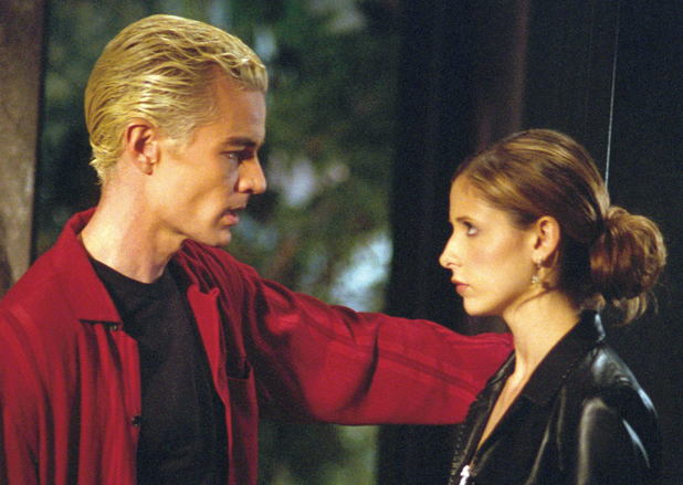 Spike and Buffy in Buffy the Vampire Slayer