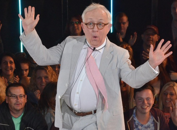 Leslie Jordan enters the Celebrity Big Brother house