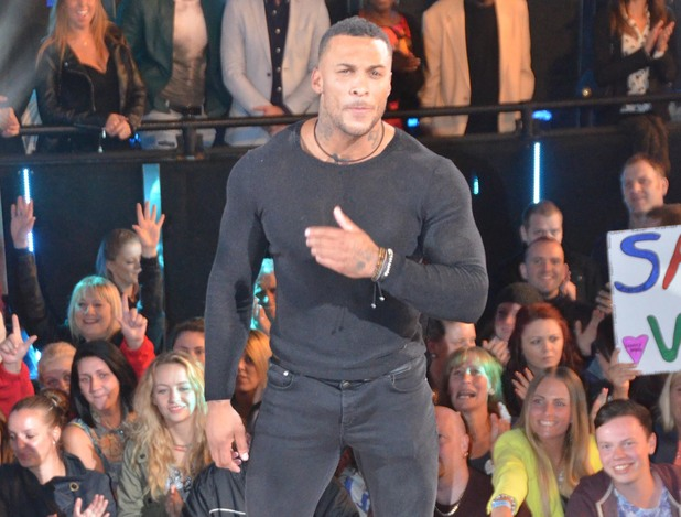 David McIntosh enters the Celebrity Big Brother house