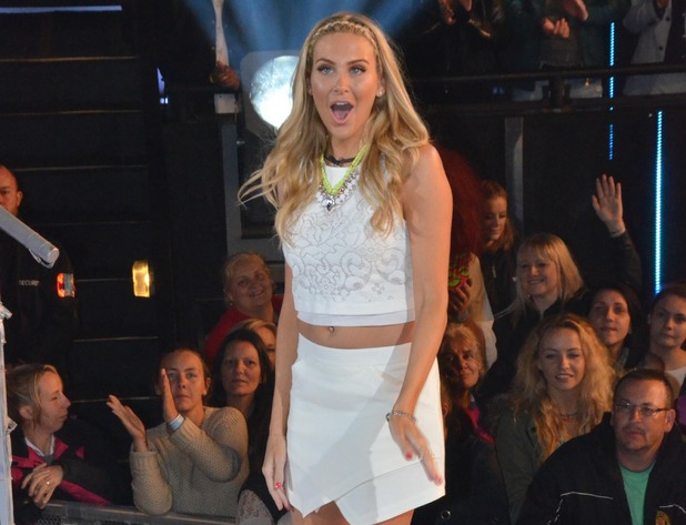 Stephanie Pratt enters the Celebrity Big Brother house