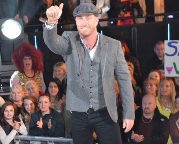 James Jordan enters the Celebrity Big Brother house