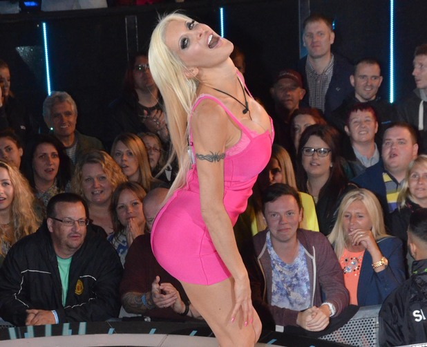 Frenchy enters the Celebrity Big Brother house