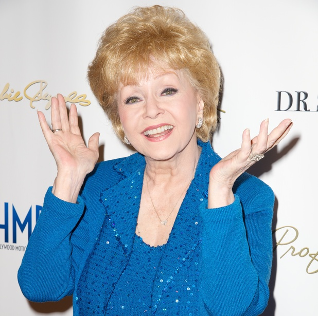Debbie Reynolds host an all-star gala preview reception for her final Hollywood Motion Picture Collection Auction at Debbie Reynolds's Dance Studio