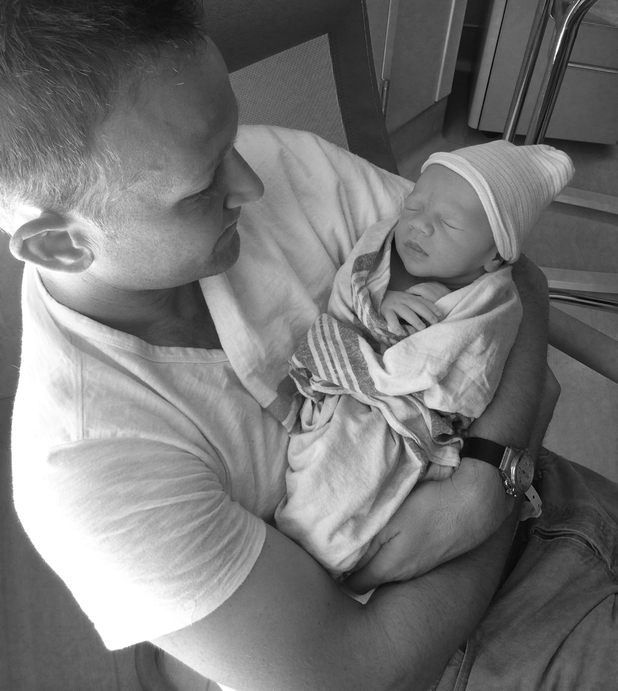 Eric Ladin welcomes baby boy