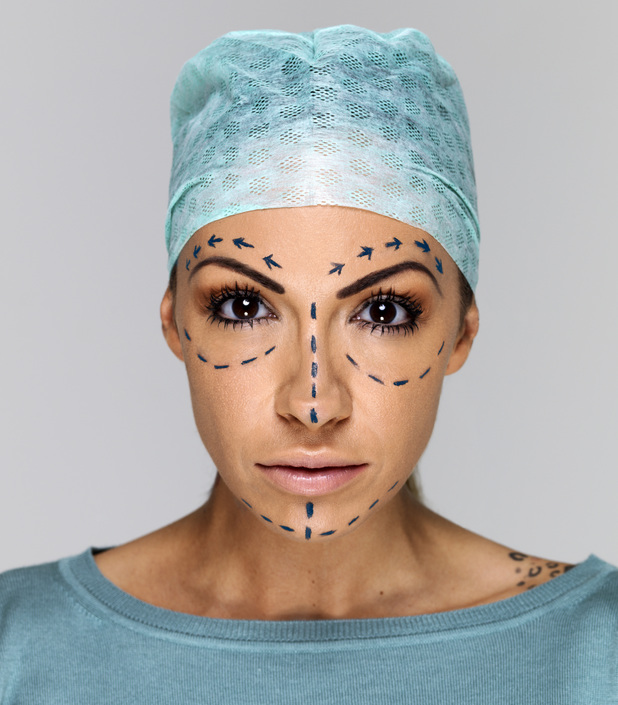 Jodie Marsh marked up for plastic surgery for TLC UK