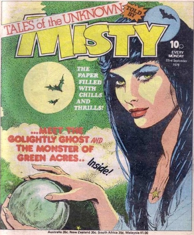 Misty girls' weekly comic from the 1970s