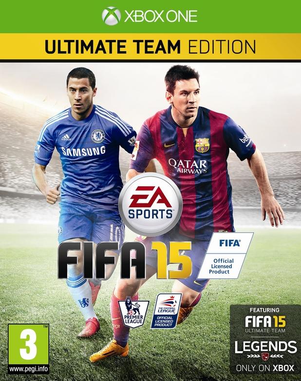 FIFA 15 pack shot