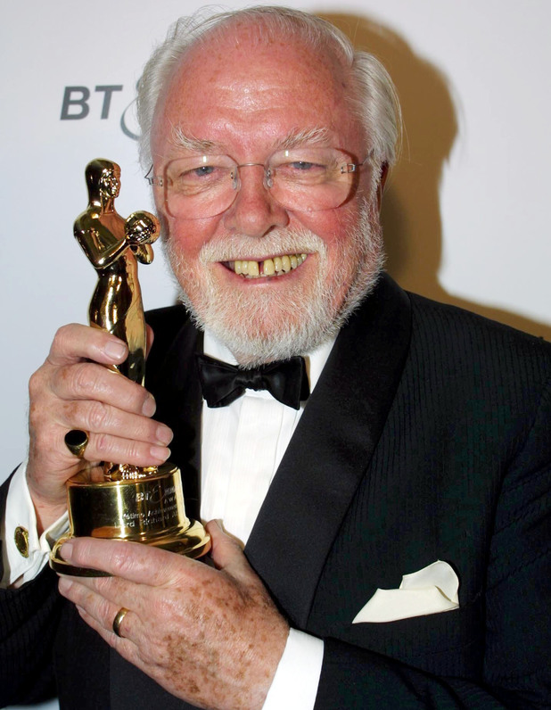 Sir Richard Attenborough at the Bt Emma Awards At Grosvenor House Hotel in 2001