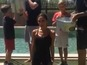 Watch Victoria Beckham do Ice Challenge