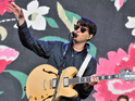 Ezra Koenig of Vampire Weekend performs on Day 1 of the Reading Festival