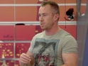James Jordan doesn't seem to be very happy that he is facing eviction.