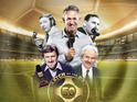 Gary Lineker, Alan Hansen and Des Lynam are among our Premier League of MOTD stars.