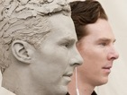 "Benedict Cumberbatch's waxwork progresses: ""Finally I can photobomb myself!"""