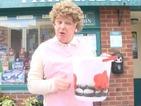 Les Dennis completes Ice Bucket Challenge as Coronation Street's Mavis