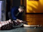Nate is shocked to find Sophie unconscious.