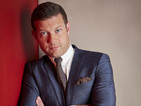 Dermot O'Leary is left stunned when a topless woman appears on Skype chat.