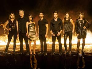 The cast of Dallas Season 3