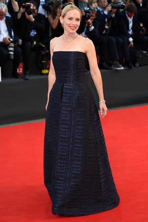 VENICE, ITALY - AUGUST 27: Amy Ryan attends 'Birdman' Premiere during 71st Venice Film Festival on August 27, 2014 in Venice, Italy. (Photo by Stefania D'Alessandro/WireImage)