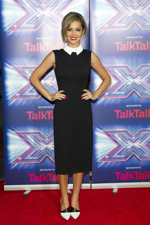 LONDON, UNITED KINGDOM - AUGUST 27: Cheryl Fernandez-Versini attends the press launch for the new series of 'The X Factor' at Ham Yard Hotel on August 27, 2014 in London, England. (Photo by Justin Goff/UK Press via Getty Images)