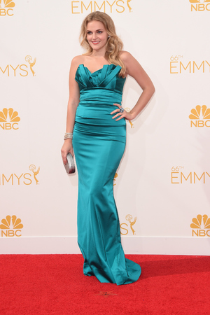 LOS ANGELES, CA - AUGUST 25: Actress Madeline Brewer attends the 66th Annual Primetime Emmy Awards held at Nokia Theatre L.A. Live on August 25, 2014 in Los Angeles, California. (Photo by Jason Merritt/Getty Images)