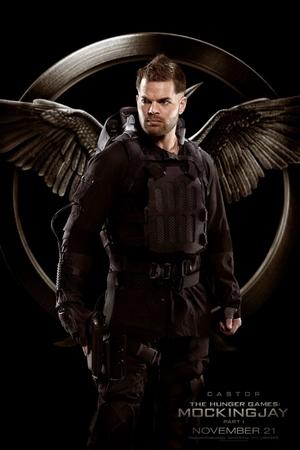 The Hunger Games: Mockingjay Part 1 Castor poster